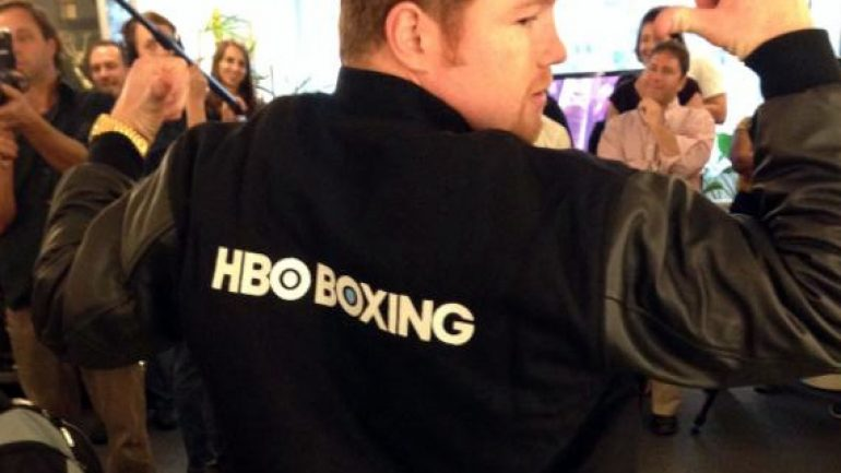 One year after Canelo, Golden Boy's reunion with HBO