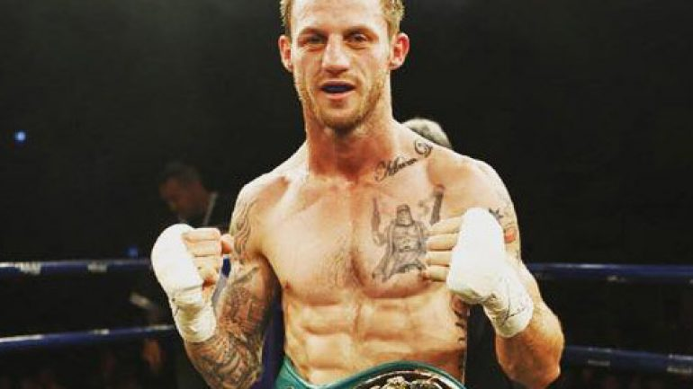 Australian Davey Browne dies four days after knockout loss