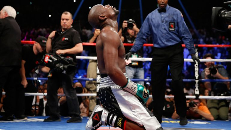 Mayweather vs. Berto: The numbers are in … sort of