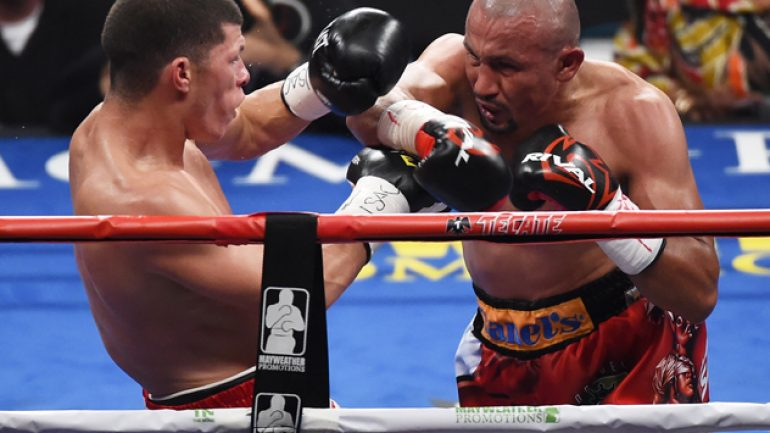 Orlando Salido gets the short end after a long night