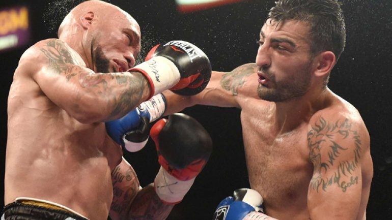 Vanes Martirosyan scores majority decision over Ishe Smith