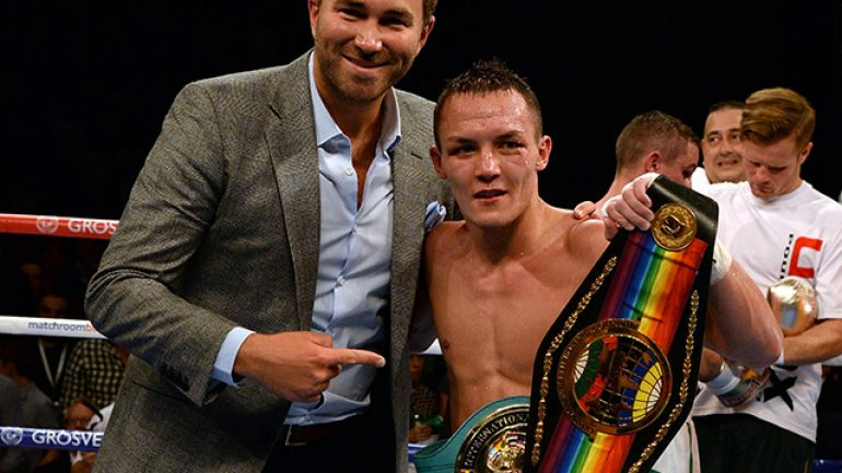 Josh Warrington tames Hisashi Amagasa, Stuart Hall wins