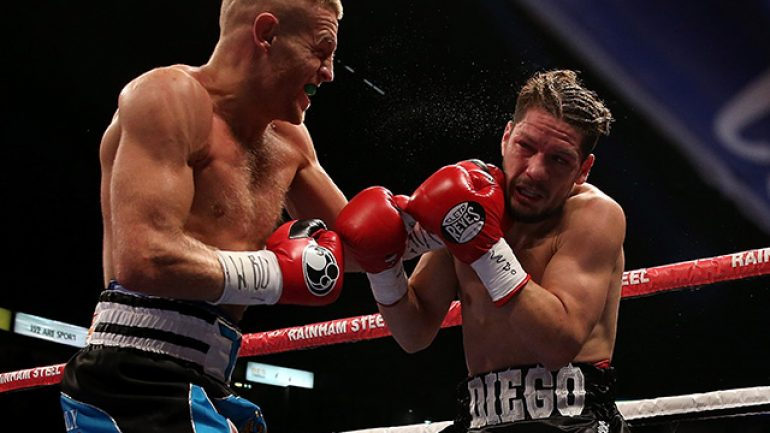 Terry Flanagan destroys Diego Magdaleno in two rounds
