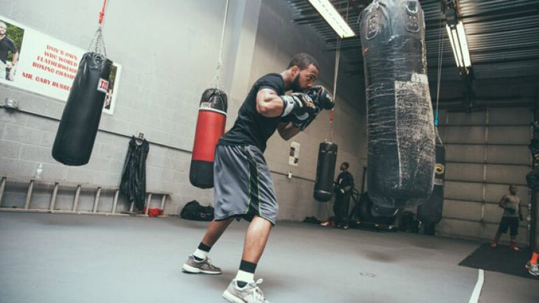 Photo gallery: Gary Russell Jr. workout