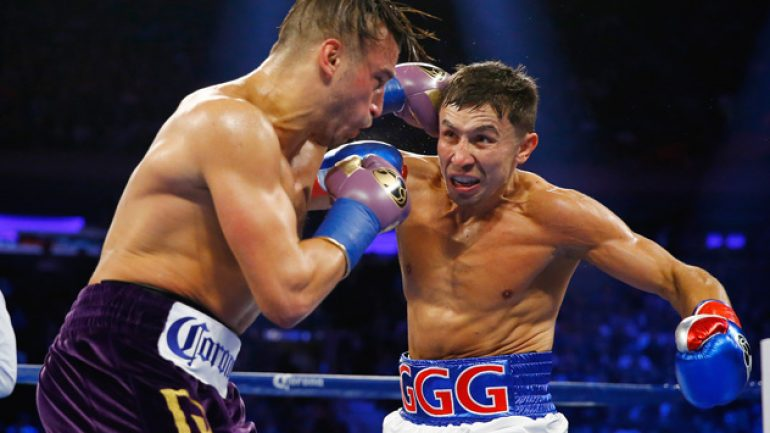 Gennady Golovkin puts on a show and a clinic with Lemieux stoppage