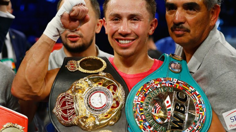 Could we see Golovkin-Saunders in April?