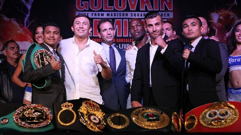 Golovkin, Lemieux and Gonzalez: The new era starts now