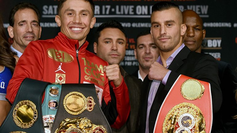 Modest but hopeful PPV projections set for Golovkin-Lemieux