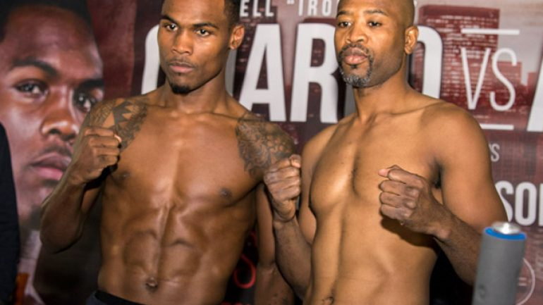 Jermell Charlo-Joachim Alcine weigh-in results and photos