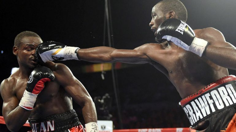 Crawford outclasses Jean, maybe sets up Pacquiao showdown