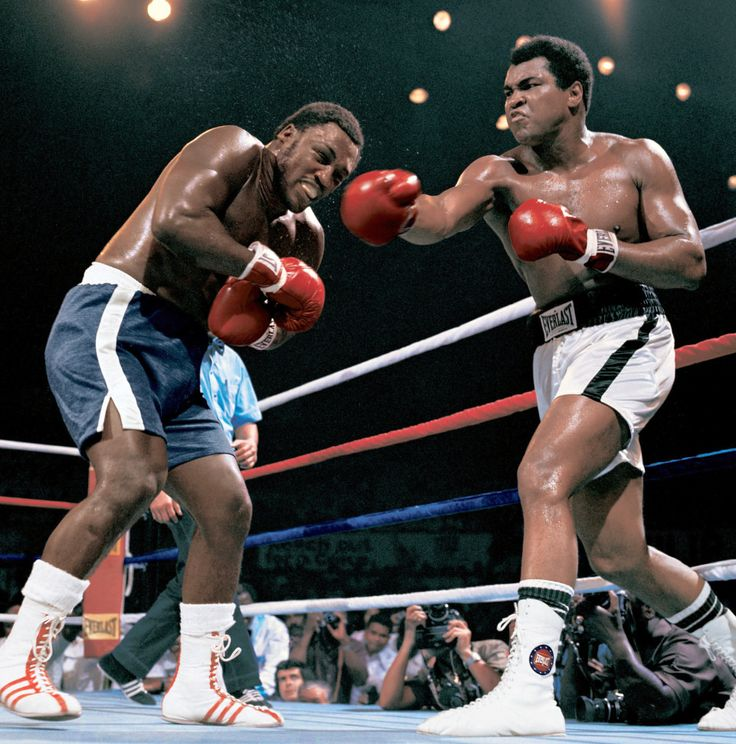 The thrilla in manila: muhammad ali vs joe frazier iiithe fight city.