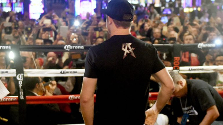 Photo gallery: Canelo Alvarez and Miguel Cotto arrive in Las Vegas