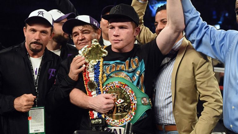Could Monroe or Rosado be Canelo's May assignment?