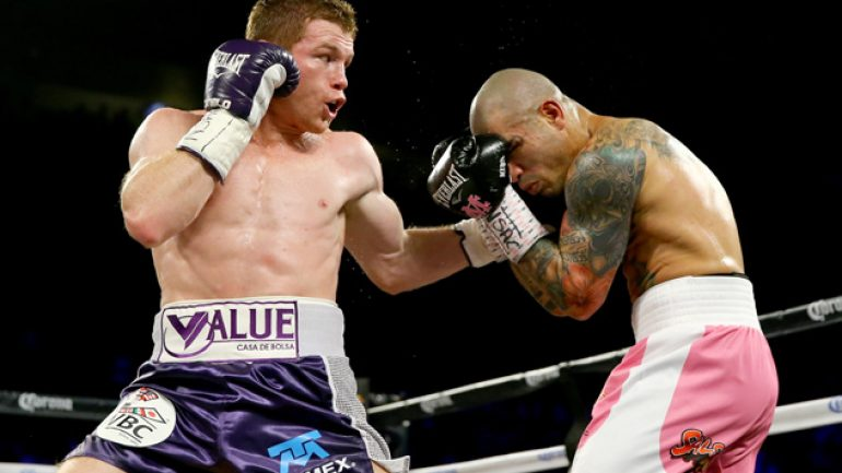 Mark Taffet reveals Canelo-Cotto numbers