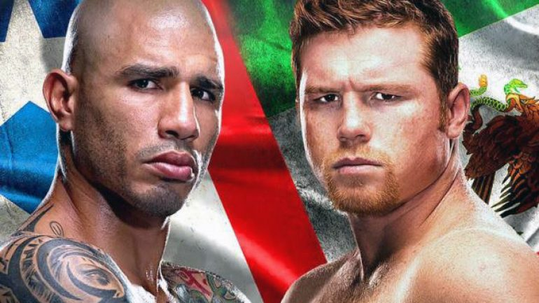 Cotto-Canelo: The British connection