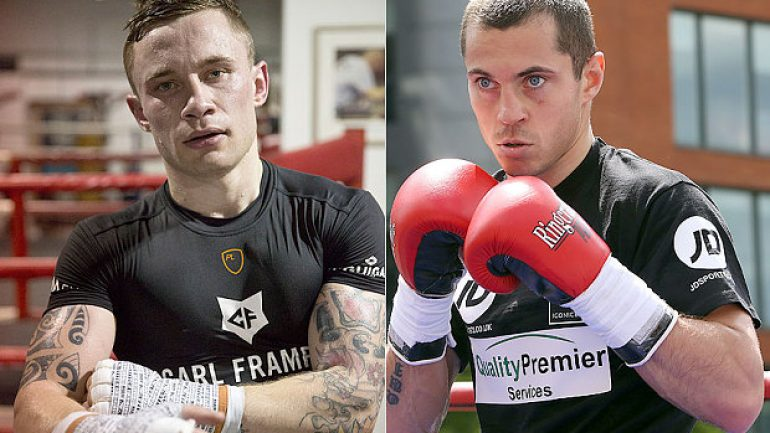 Weigh-in result: Carl Frampton 121.75 Scott Quigg 121.5