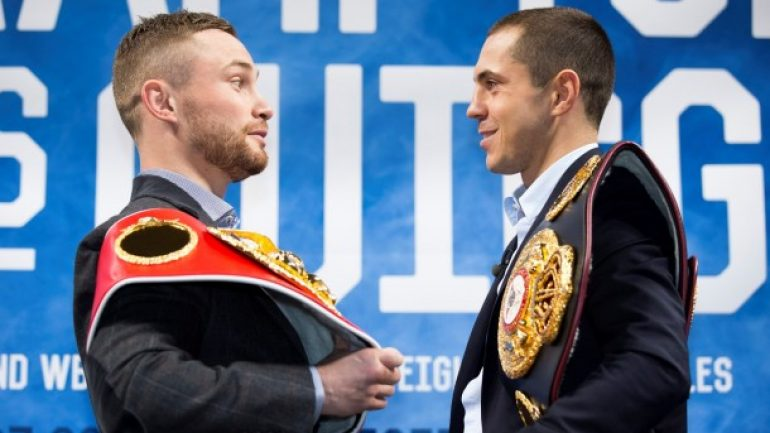 Kiko Martinez talks Carl Frampton-Scott Quigg