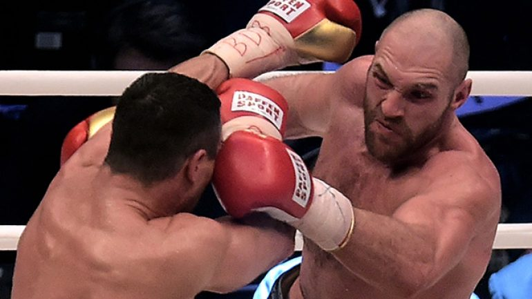 Klitschko and Fury get nasty at Manchester press conference