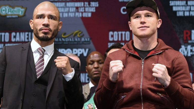 Watch the Cotto-Canelo weigh-in live