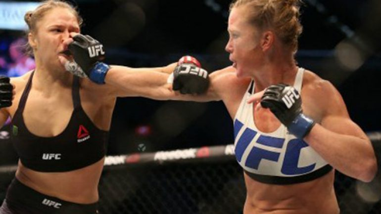 Commentary: Holm's upset of Rousey is her victory, not boxing's