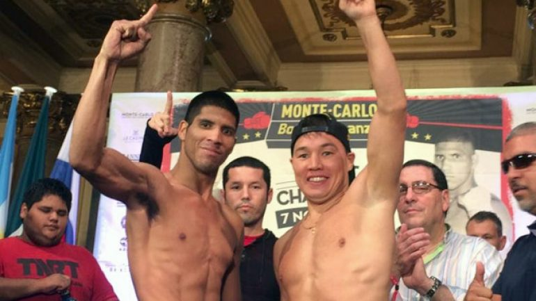 Ruslan Provodnikov-Jesus Rodriguez weigh-in results