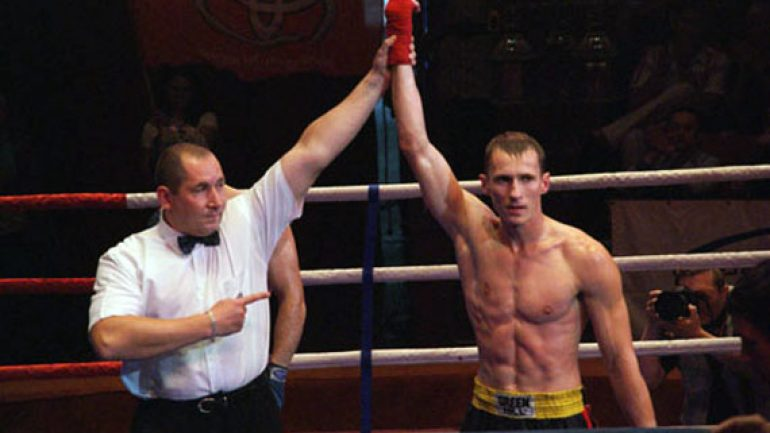 Eduard Troyanovsky grabs IBF title with bizarre TKO of Cesar Cuenca