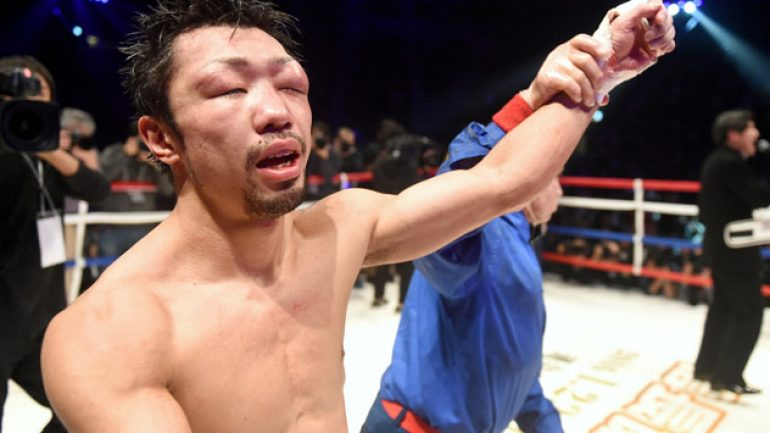 Yaegashi outboxes Mendoza to win title, Inoue blasts Parrenas in 2