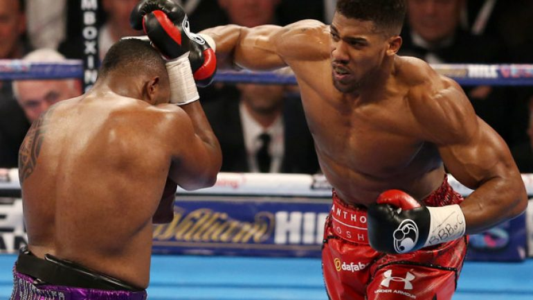 RING Ratings Update: The Anthony Joshua story evolves