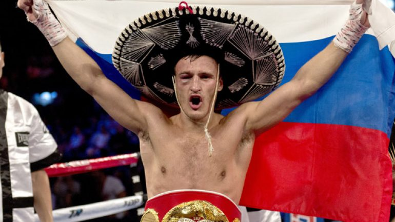Gradovich returns, but not necessarily with Donaire in mind