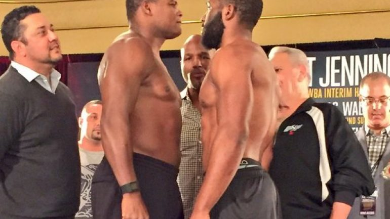 Weigh-in results: Bryant Jennings 229.5, Luis Ortiz 239