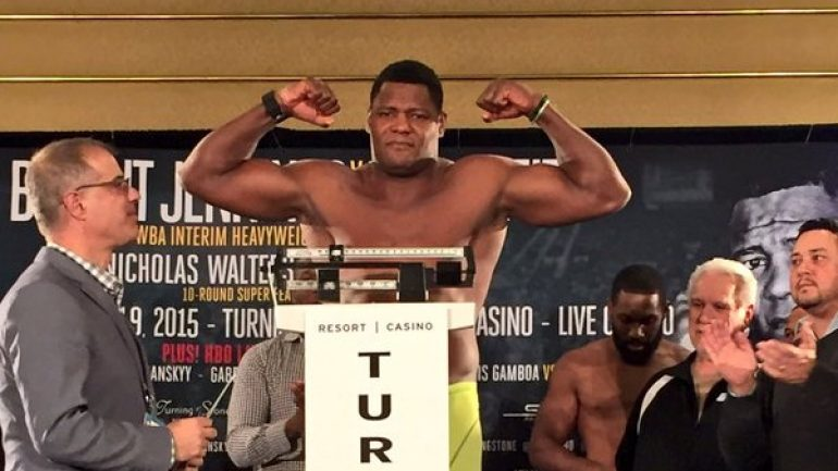 Luis Ortiz: 'I can fight whoever Golden Boy Promotions puts in front of me'