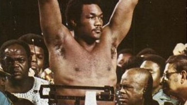 From THE RING Archives: George Foreman interviewed in 1976