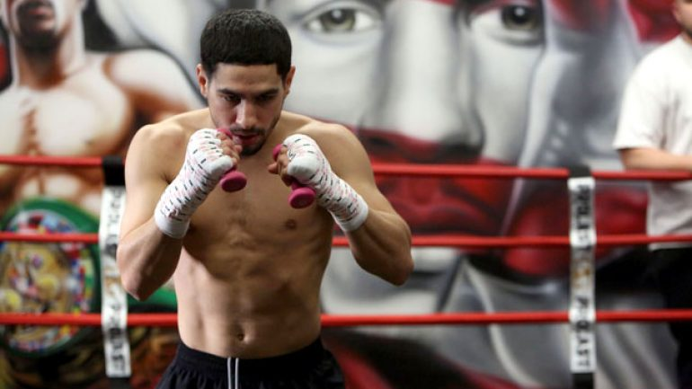 Photo gallery: Danny Garcia, Amir Mansour media workout