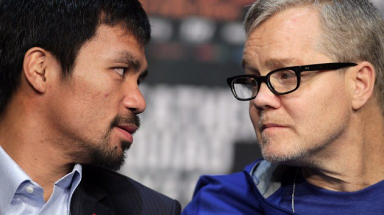 Has Manny Pacquiao fully written off anti-gay commentary?