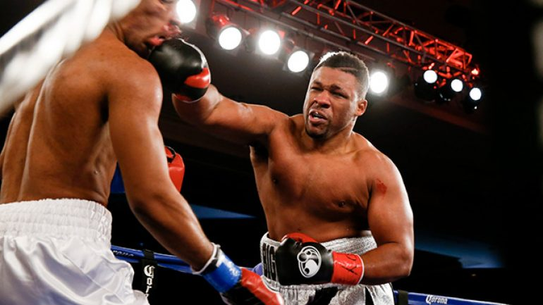 Jarrell Miller to face Nick Guivas on Friday night