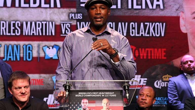 Lennox Lewis to be honored at Friar's Club roast