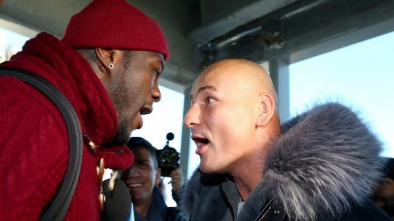 Manhattan hosts Wilder-Szpilka presser