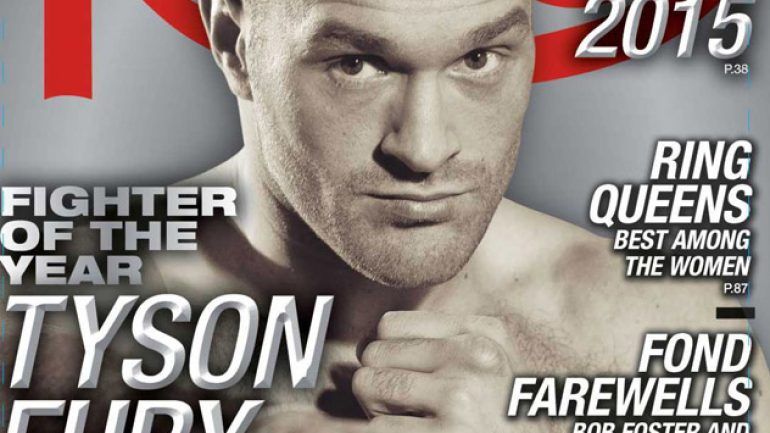 Exclusive: Tyson Fury 'ecstatic' over RING Fighter of the Year award