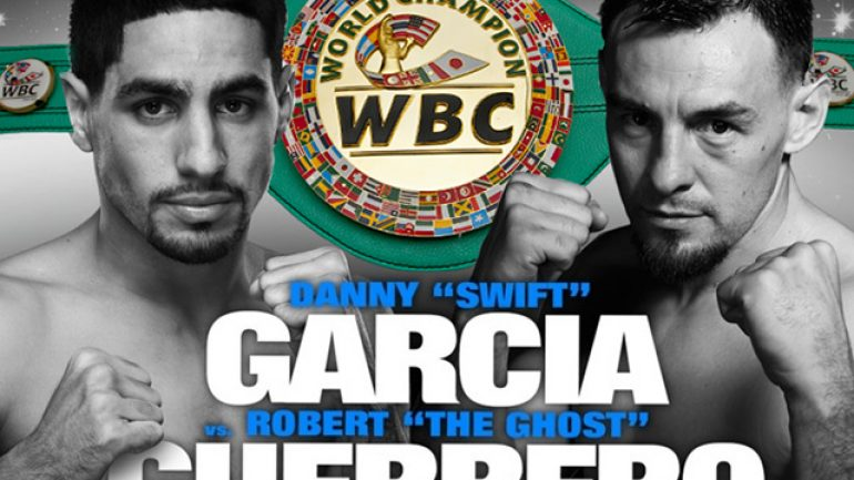 Garcia-Guerrero to fight for vacant WBC welterweight title