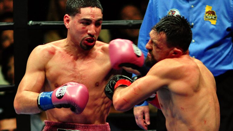 Garcia outpoints game Guerrero, wins vacant WBC welterweight title