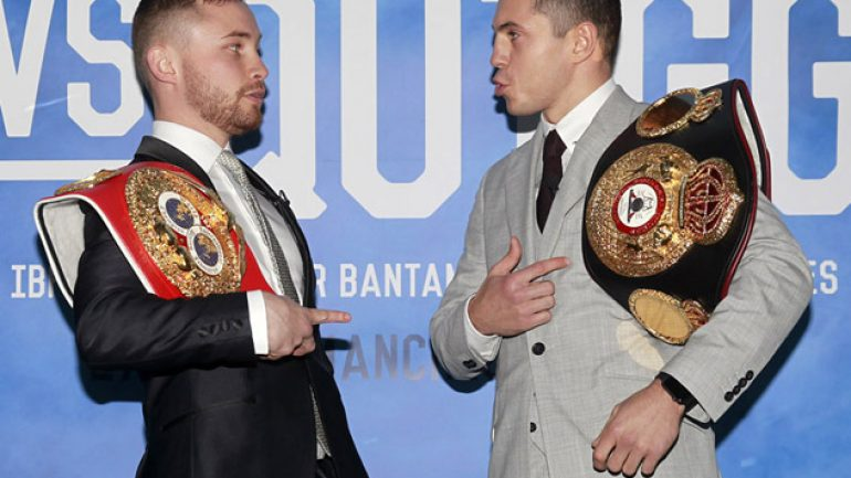 Fight Picks: Carl Frampton vs. Scott Quigg