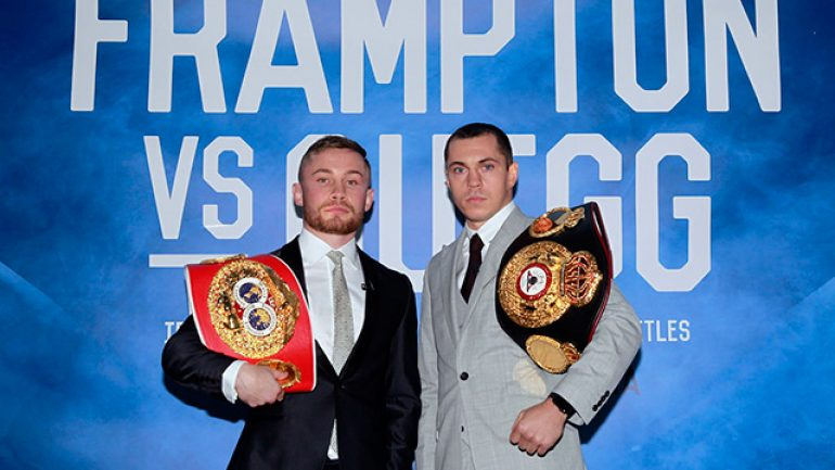 RING Ratings update: Frampton and Quigg swap