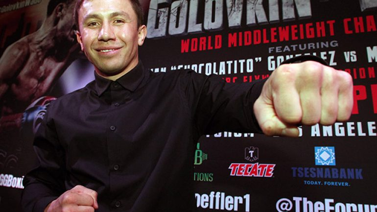 Gennady Golovkin signs with Jordan Brand, continuing mainstream push