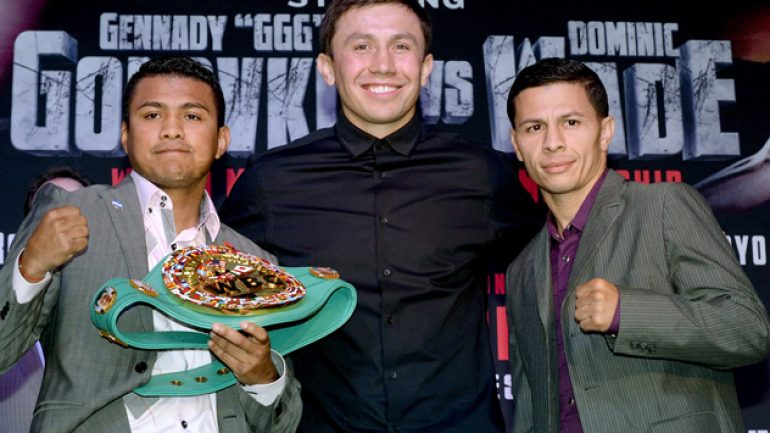 Photo gallery: Golovkin-Wade, Gonzalez-Arroyo press conference
