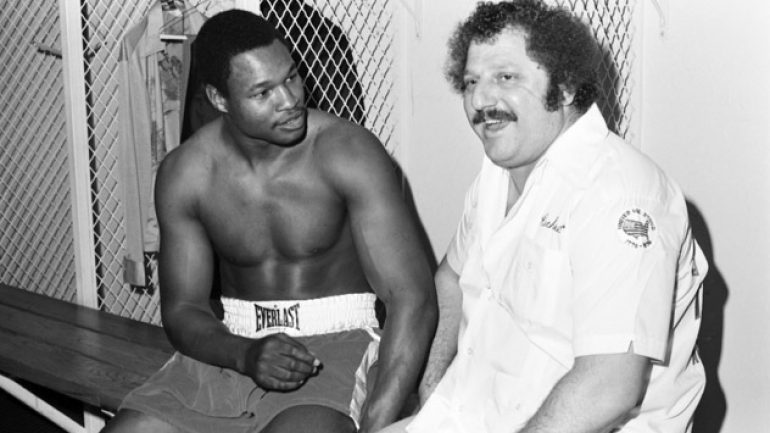 Larry Holmes remembers trainer Richie Giachetti as master motivator