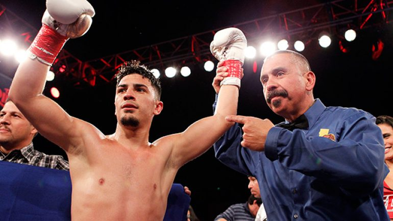 Press release: Randy Caballero, Frankie Gomez score wins
