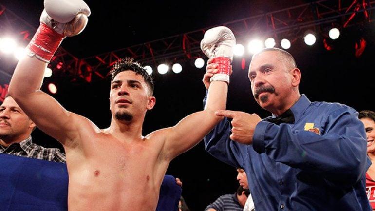 Press release: Randy Caballero, Frankie Gomez score wins