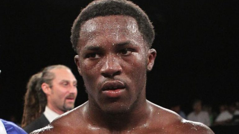 Undefeated Travis Peterkin is planning March 30 return