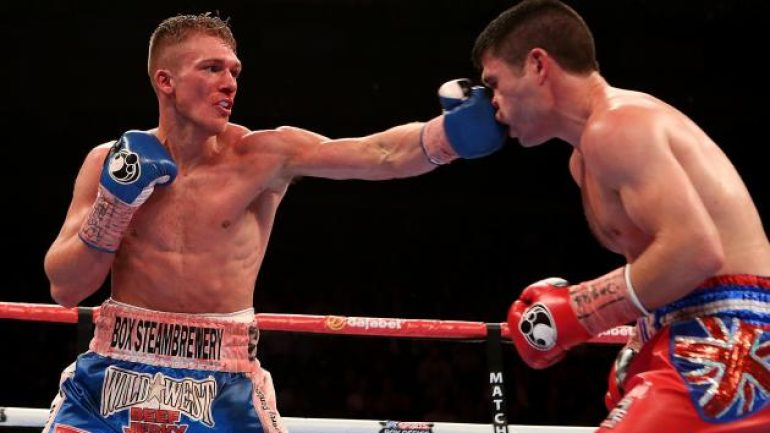 Nick Blackwell to defend British title against Chris Eubank Jr.
