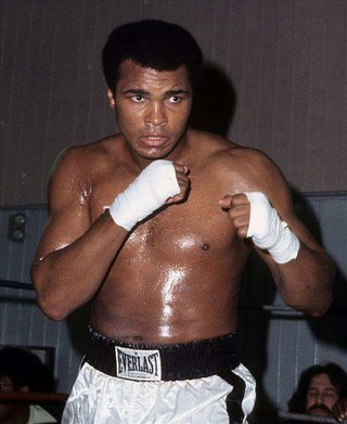 Ali in 1976. Photo: Getty Images